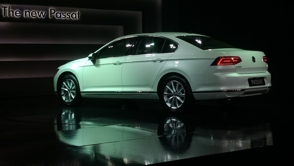 The Passat has a very understated design.