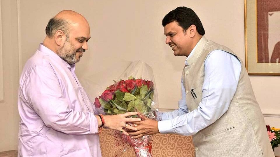 Amit Shah and Devendra Fadnavis might have new plans for the Maharashtra cabinet.