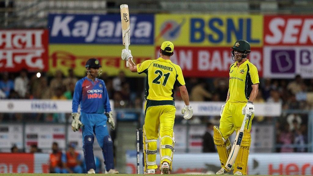 India vs Australia T20 series.