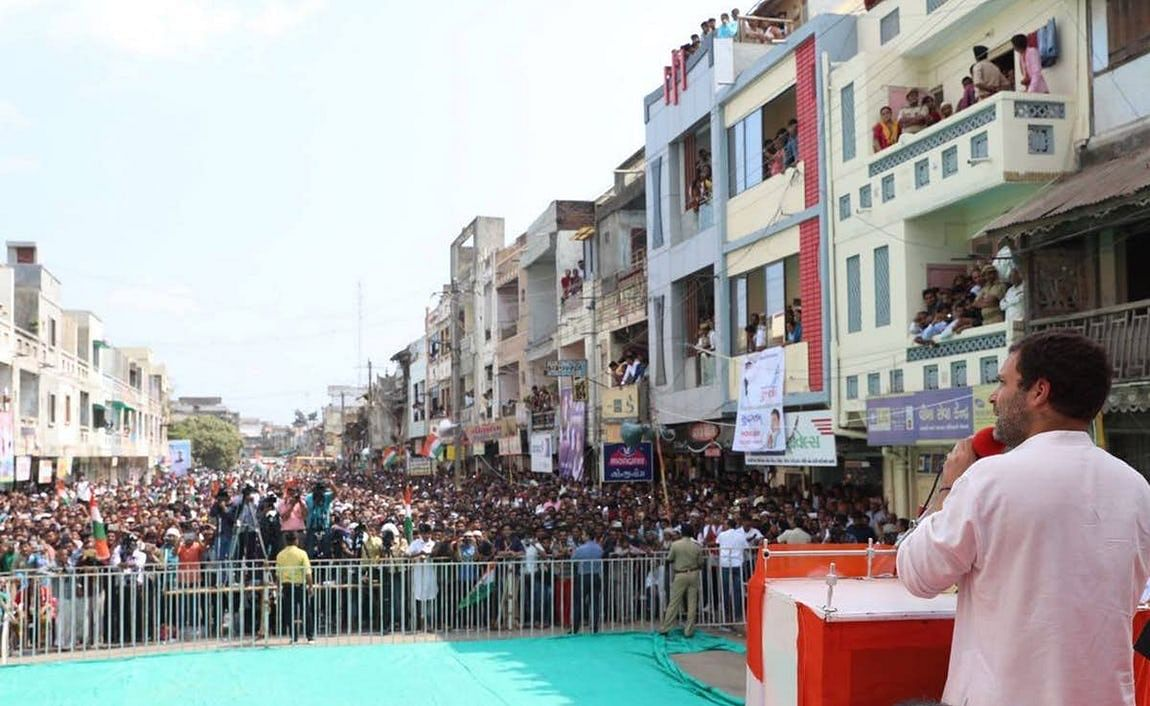 This is the most enthusiasm the Congress has shown in Gujarat elections in 20 years.