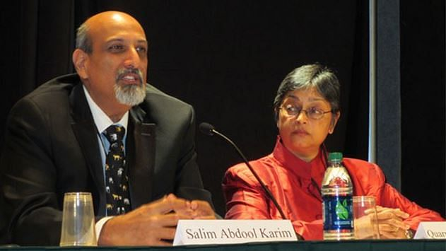 Professors Salim Abdool Karim and Quarraisha Abdool Karim received the award from the Institute for Human Virology (IHV) in Baltimore in the US.