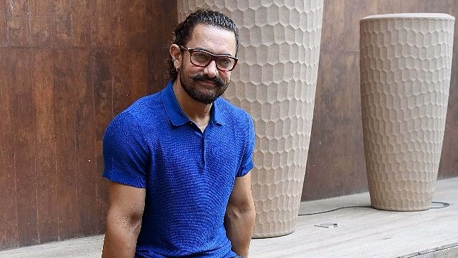 Aamir Khan during the promotions of <i>Secret Superstar </i>in Delhi.