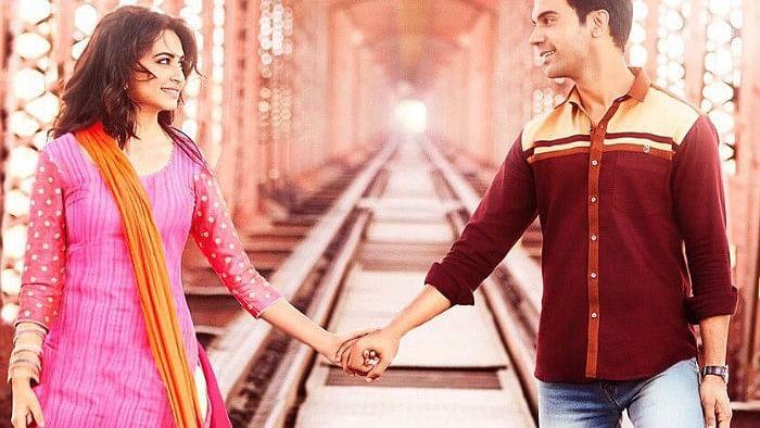 Rajkummar Rao and Kriti Kharbanda in the trailer of <i>Shaadi Mein Zaroor Aana.</i>