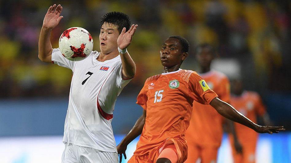 Niger beat North Korea 1-0.