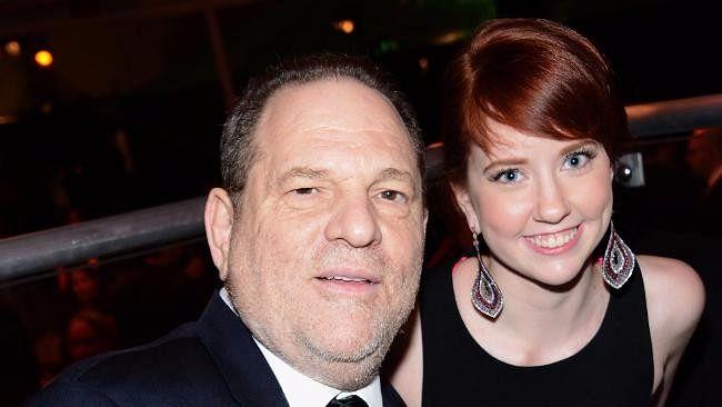 Harvey Weinstein and daughter Remy.