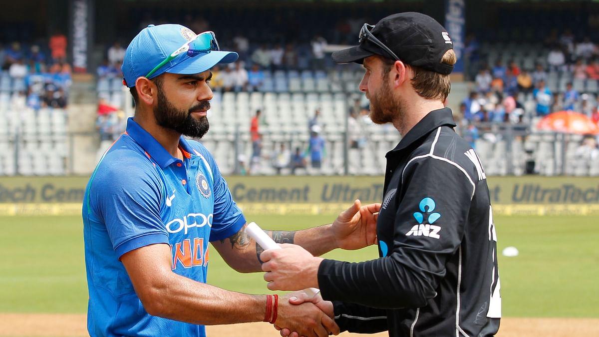 India vs New Zealand 1st ODI Live Score Updates