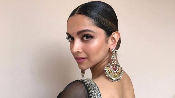 Deepika Padukone at the 3D trailer launch of <i>Padmavati</i>.