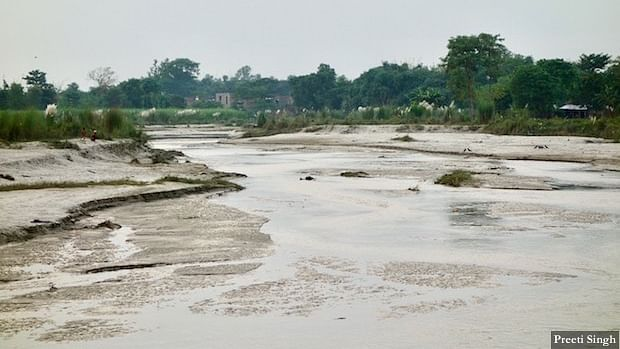 Marjadi village in Pashchim Champaran is surrounded by rivers on all four sides. It faced unprecedented flash flood in the intervening night of 12-13 August.