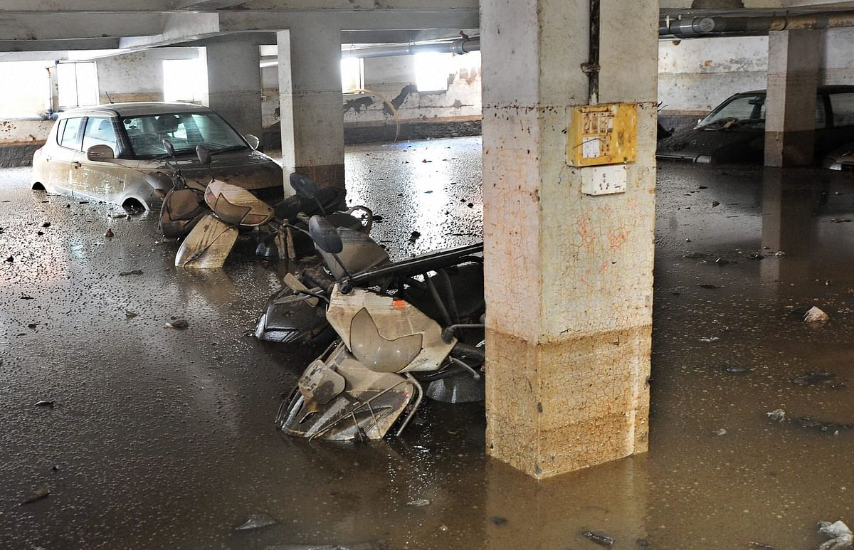 Several parts of the city are still recovering from the rain damage.