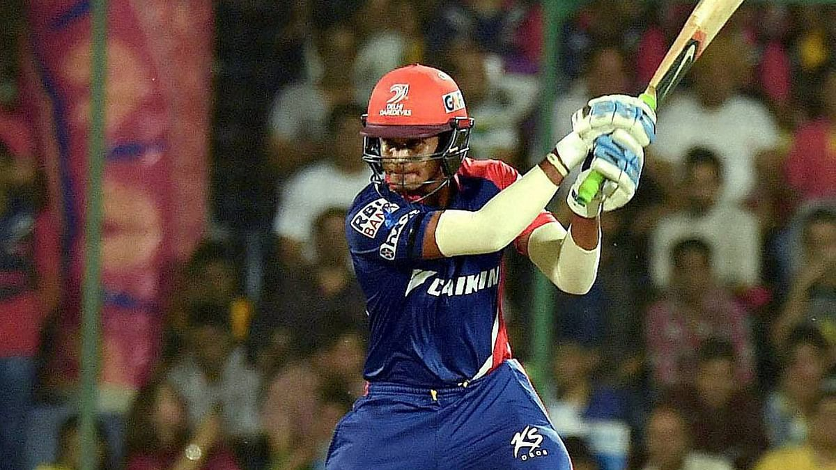 Shreyas Iyer during his stint with Delhi Daredevils in the IPL