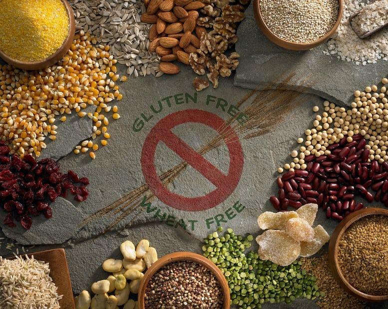 Gluten-free ingredients.