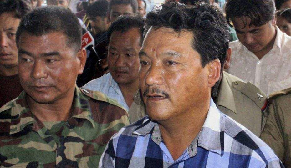 File image of Gorkha leader Bimal Gurung.