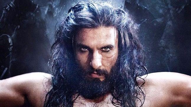 Ranveer Singh in <i>Padmavati. </i>