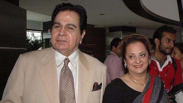 File photo of Dilip Kumar and Saira Banu.