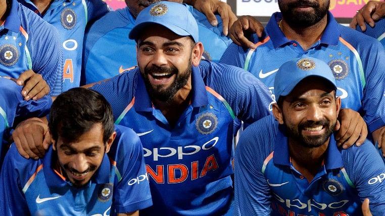 Virat Kohli after India's win in India vs Australia ODI series.