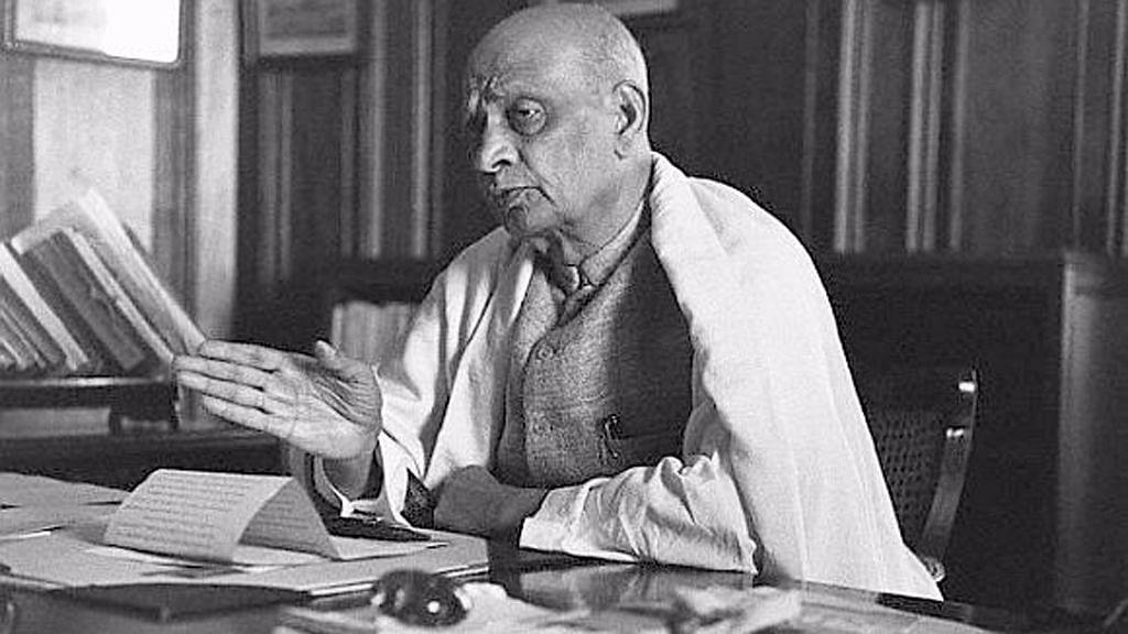 Sardar Vallabhbhai Patel.