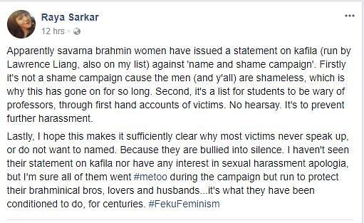 Facebook List Naming Profs as Sexual Harassers Sparks Fiery Debate