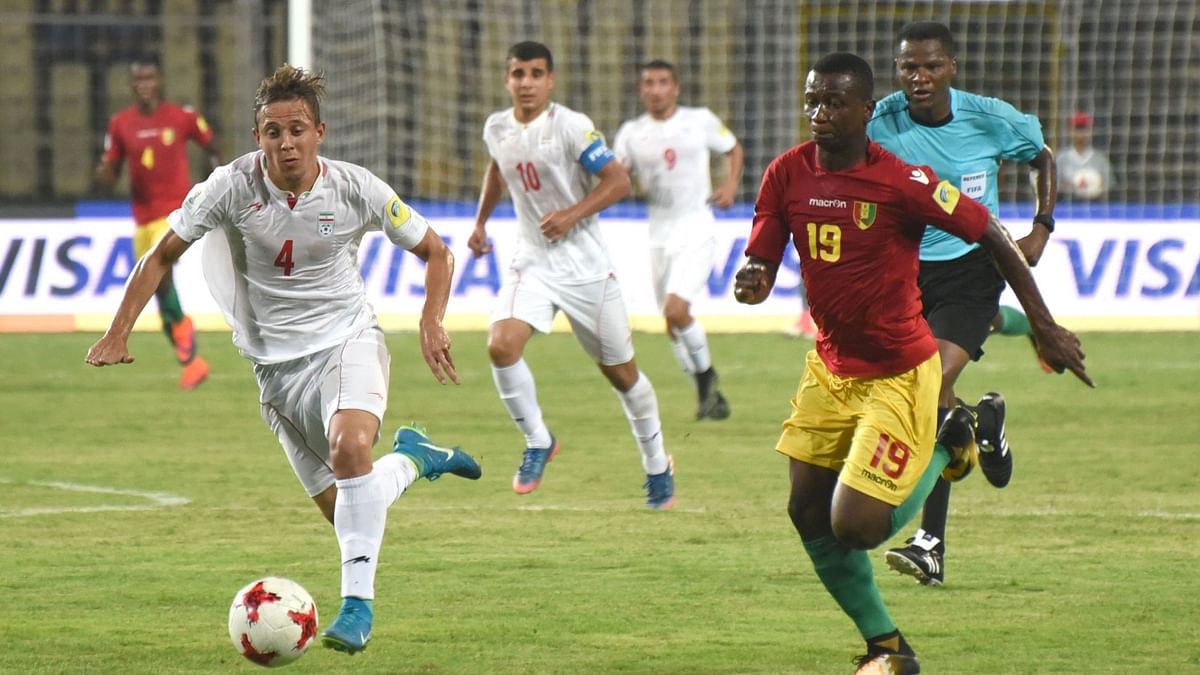 Iran beat Guinea 3-1.