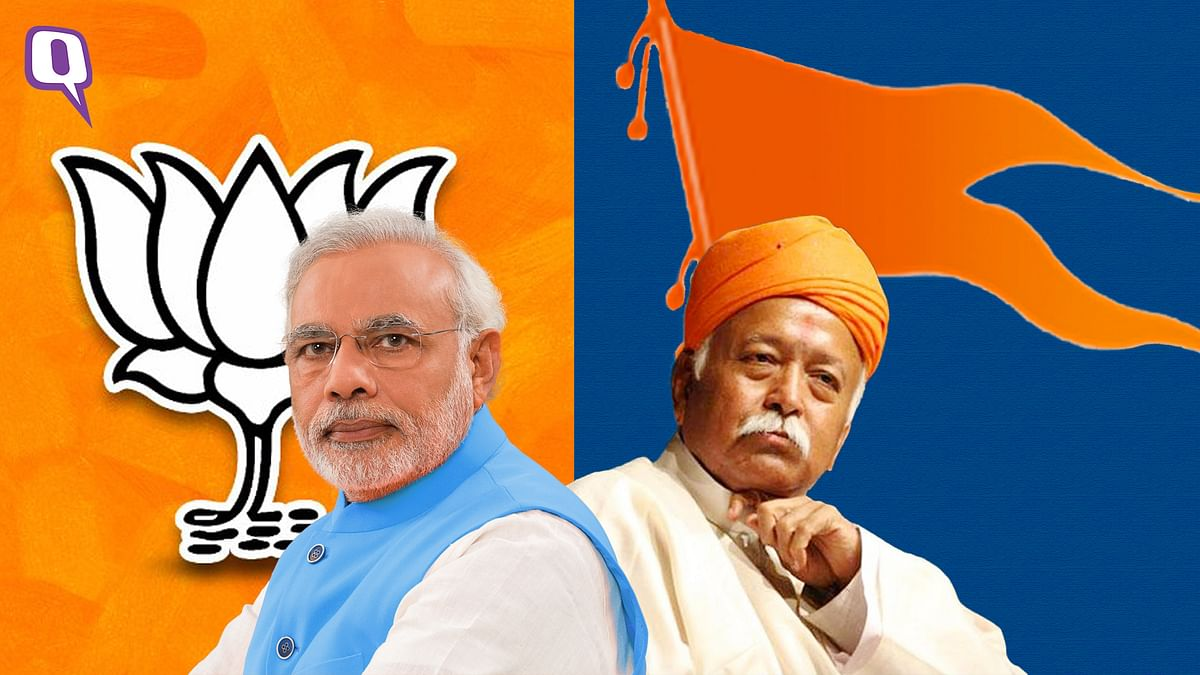 RSS chief Mohan Bhagwat used his annual Dussehra address to caution the government on the economy.