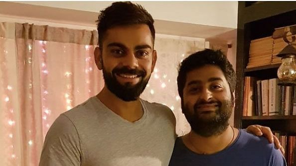 Virat Kohli Has a 'Fanboy Moment' With the 'Awesome' Arijit Singh