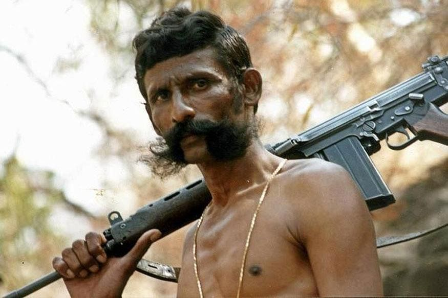 Dacoit Veerappan's gigantic moustache was so famous that in 2015, a US moustache wax company put him on the lid of a jar of wax! (Photo: Reuters)