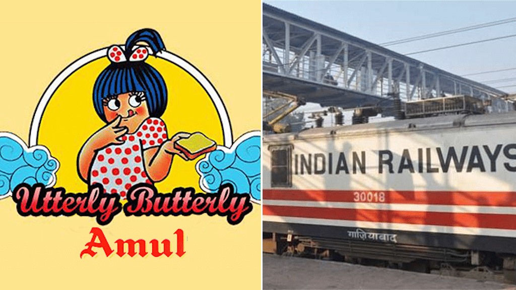 Amul offered the Indian Railways a business deal on Twitter