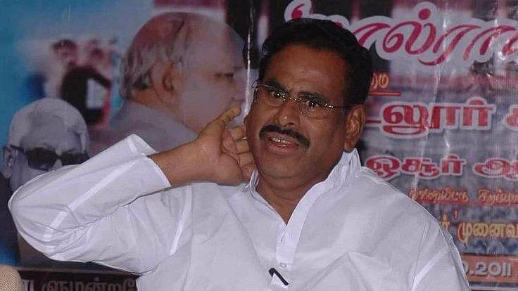 VK Sasikala's husband M Natarajan.
