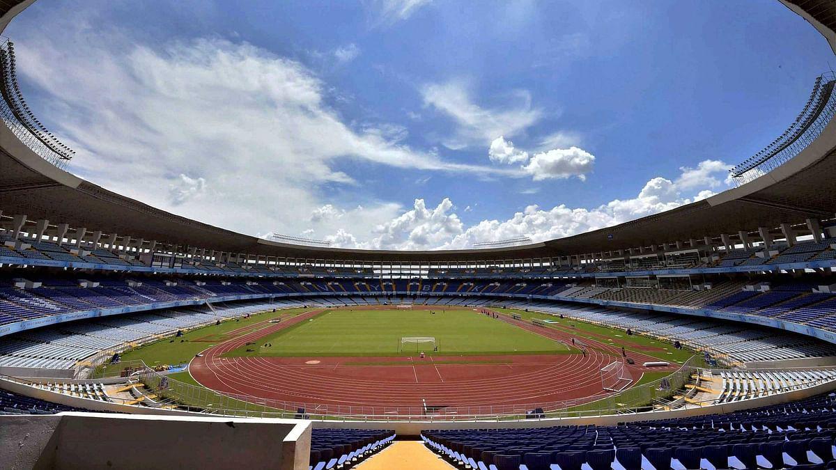 Vivekananda Yuba Bharati Krirangan ready for FIFA U-17 World Cup India 2017  at Salt Lake in Kolkata
