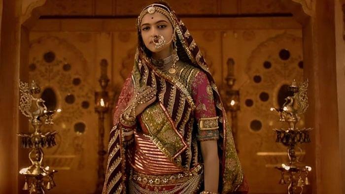 Deepika Padukone in a still from <i>Padmavati</i>.&nbsp;