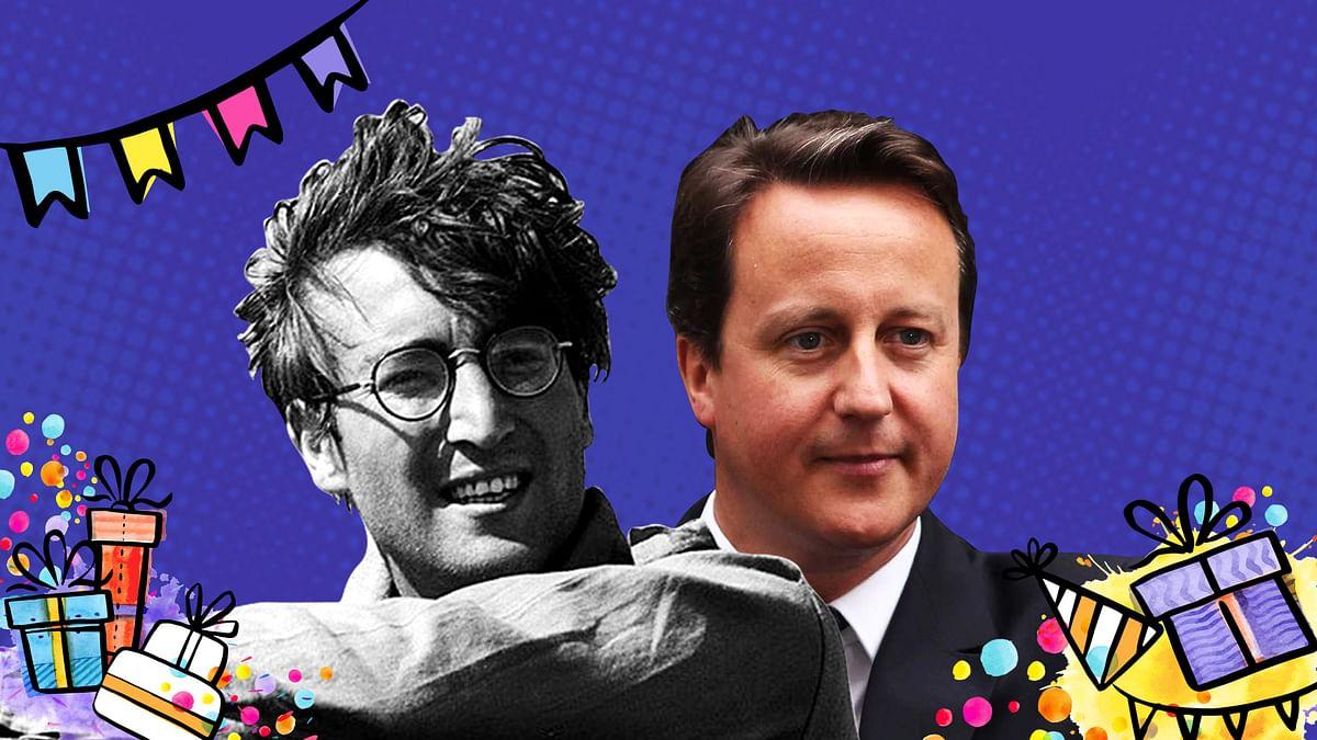 John Lennon and David Cameron are on the list!