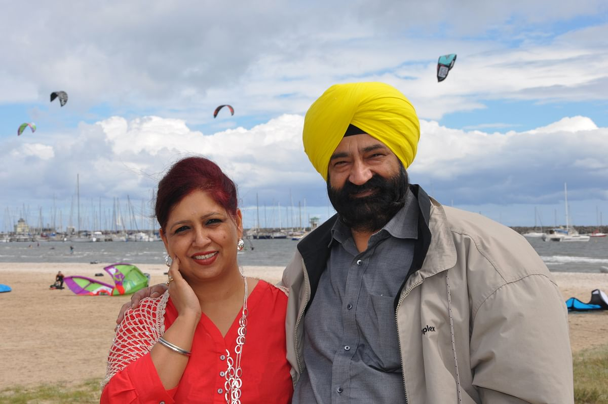 """""""Losing Jaspal created a professional and personal vacuum as I lost a companion, friend and mentor,"""" says Savita Bhatti."""