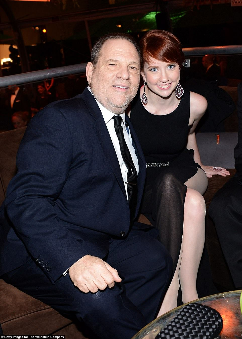 Harvey Weinstein and daughter Remy.