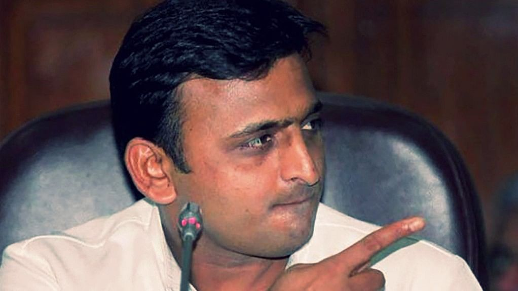 Uttar Pradesh CM Akhilesh Yadav.
