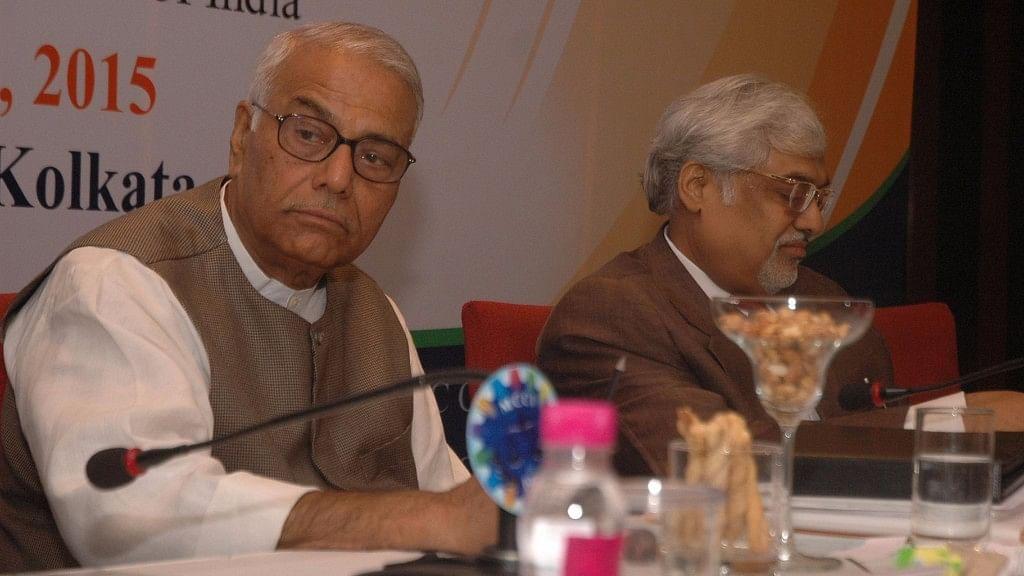 File photo of senior BJP leader Yashwant Sinha.