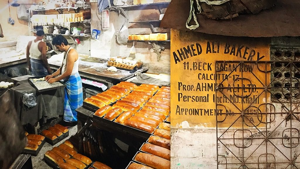 You get the best bread in Kolkata at Ahmed Ali's Bakery.
