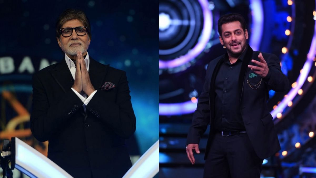 Salman Khan is stealing the show over Amitabh Bachchan when it comes to TRPs.