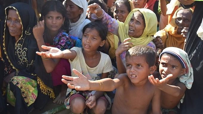 Women and children are the worst sufferers of the Rohingya crisis.