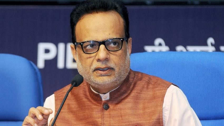 File photo of Revenue Secretary Hasmukh Adhia. (Photo: IANS)