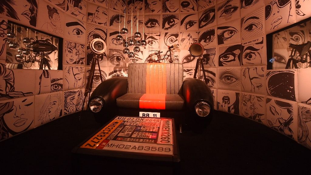 Confession room of Bigg Boss 11 House.