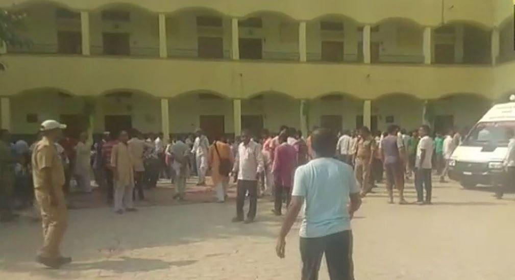 Students of Saraswati Shishu Mandir school have fallen ill.