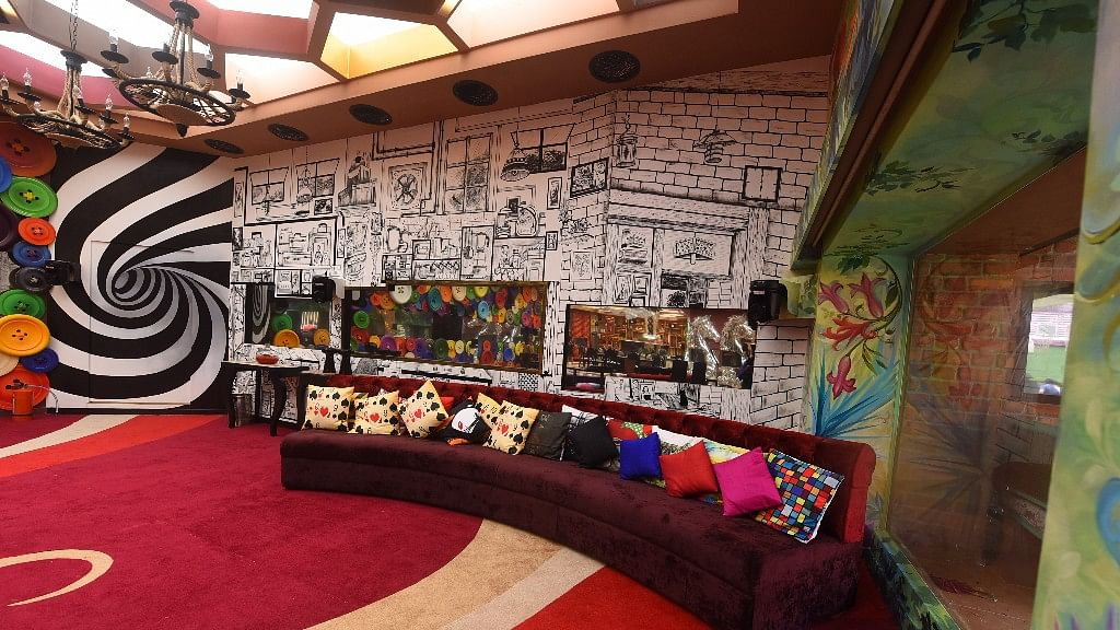 The living area of the <i>Bigg Boss </i>11 house.&nbsp;