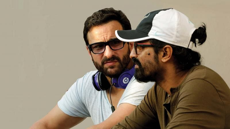 Saif Ali Khan in conversation with Raja Krishna Menon.