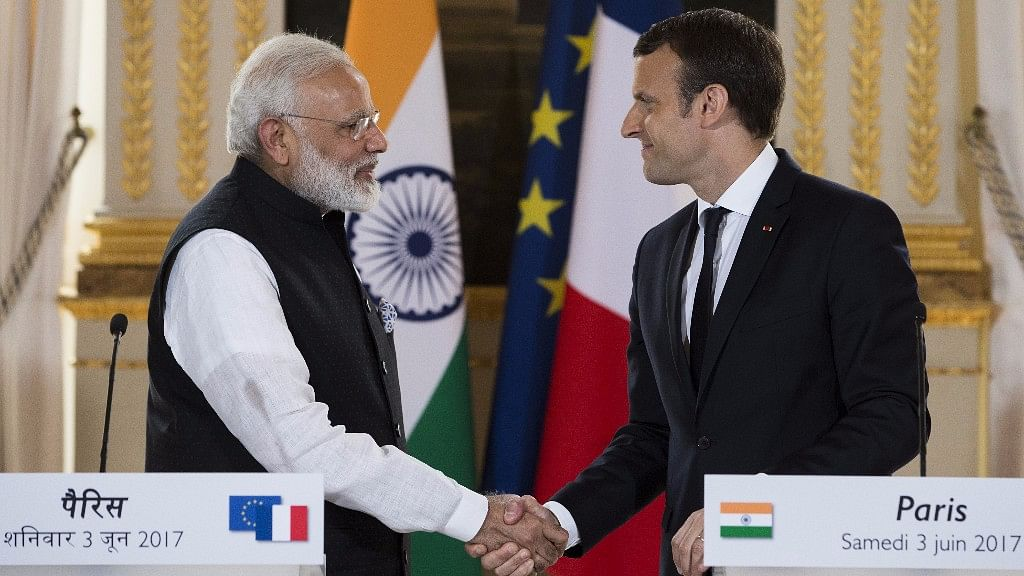 PM Modi is Right, It's a Govt-to-Govt Discussion: Macron on Rafale