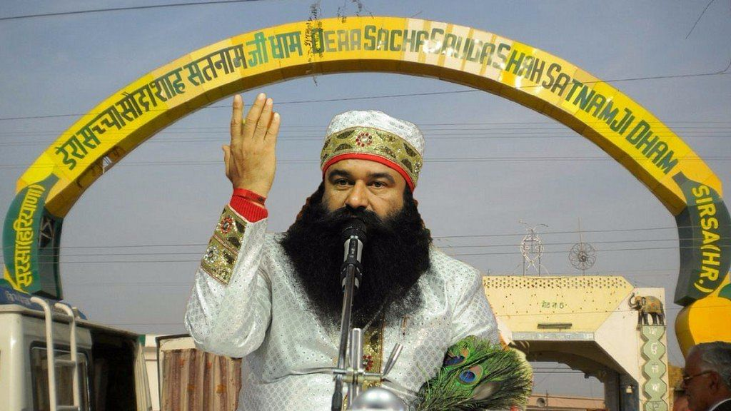 Enforcement Directorate and Income Tax department teams arrived in Sirsa to probe assets of Dera Sacha Sauda.