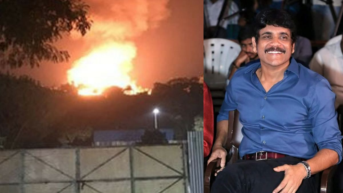 Nagarjuna opens up about his studio being burnt down.