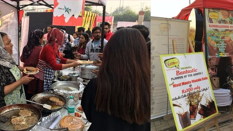 Food cooked by these Afghani women stood out at the Delhi Truck Food Festival