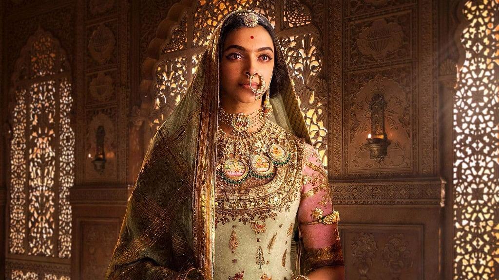 Deepika Padukone as Rani Padmini<i> in Padmaavat.</i>