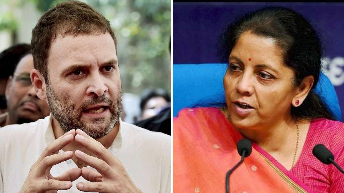 Shameful Your Boss is Silencing You on Rafale: Rahul to Sitharaman