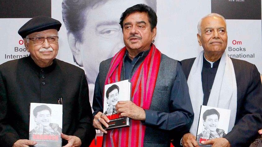 Telangana BJP leader Krishna Saagar Rao said Yashwant Sinha and Shatrughan Sinha make statements against the party out of disgruntlement.