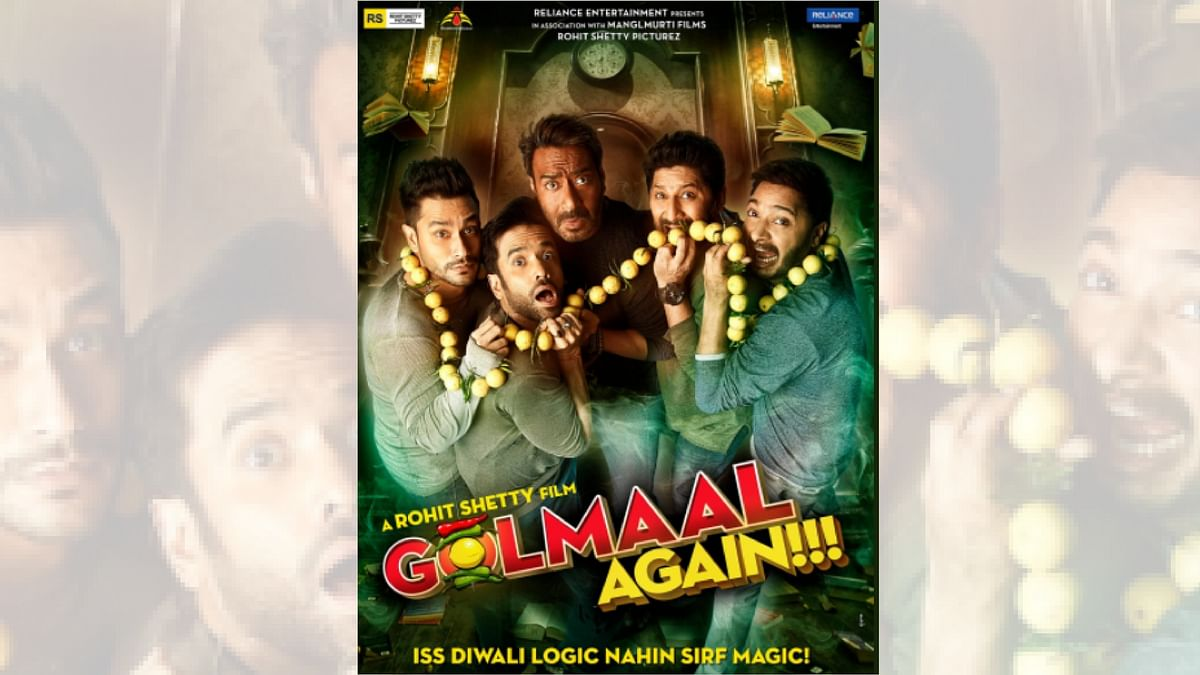 'Golmaal Again' to Re-Release in New Zealand Theatres